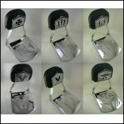 Sissy bar Destacável JJ Custom- BLACKLINE (6 Modelos)